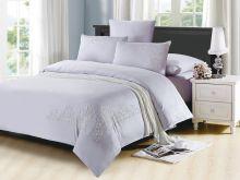 Комплект постельного белья Luxury modal  с вышивкой евро  Арт.31/010-МЕ