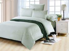 Комплект постельного белья Luxury modal  с вышивкой семейный  Арт.41/005-МЕ