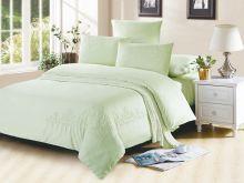 Комплект постельного белья Luxury modal  с вышивкой семейный  Арт.41/007-МЕ