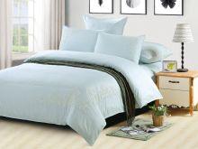Комплект постельного белья Luxury modal  с вышивкой семейный  Арт.41/008-МЕ