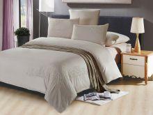 Комплект постельного белья Luxury modal  с вышивкой семейный  Арт.41/011-МЕ