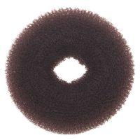DEWAL Валик для прически, сетка, коричневый d8 см, HO-5116 Brown