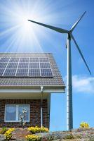 """Гибриднаясолнечно-ветровая электростанция """"Green optimal"""" 12кВт"""