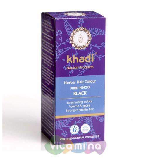 Khadi Растительная краска для волос «Индиго», 100 г