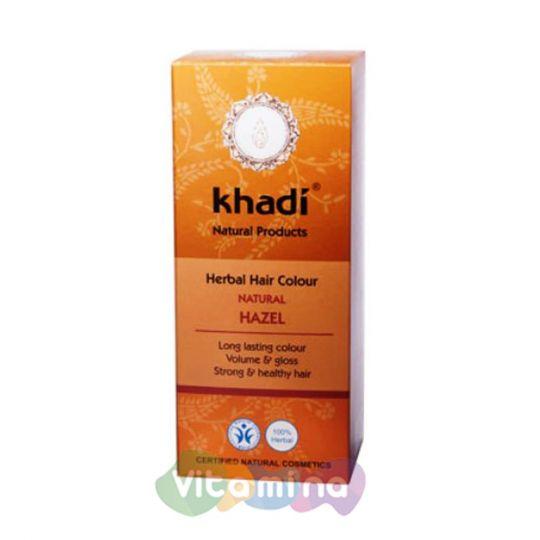 Khadi Растительная краска для волос «Орех», 100 г