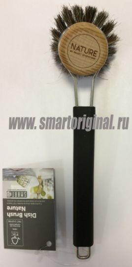 Smart Microfiber Щётка для мытья посуды чёрная Natur