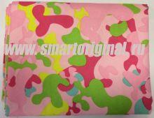 Smart Microfiber Полотенце семейное 85 х 175 см камуфлированное розовое