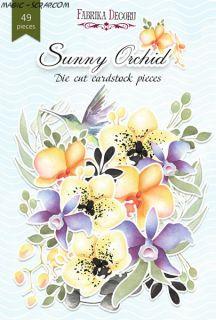 """Набор высечек """"Sunny Orhid"""" FD"""