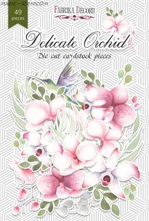 """Набор высечек """"Delicat Orhid"""" FD"""