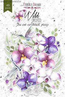 """Набор высечек коллекция """"Wild Orchid"""" FD"""