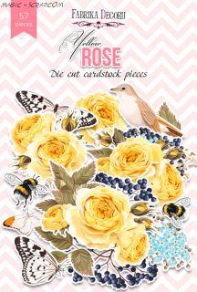 Набор высечек коллекция «Yellow Rose» FD