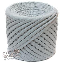 `Трикотажная пряжа ''Saltera'' 7-9 мм, длина 100м +-5%, цвет ПЕПЕЛ