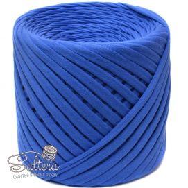 `Трикотажная пряжа ''Saltera'' 7-9 мм, длина 100м +-5%, цвет ВАСИЛЕК