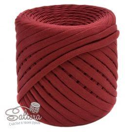 `Трикотажная пряжа ''Saltera'' 7-9 мм, длина 100м +-5%, цвет ВИНО