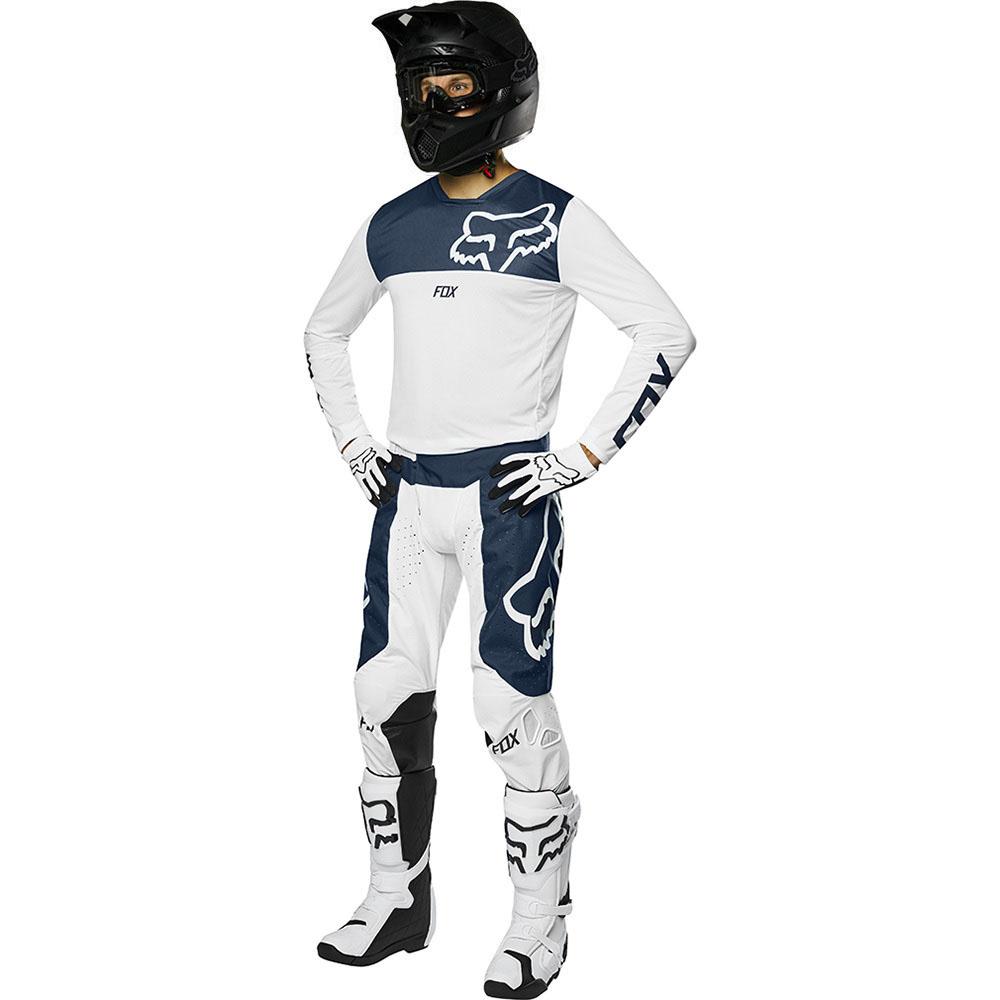Fox - 2019 Airline Navy/White комплект штаны и джерси, сине-белые