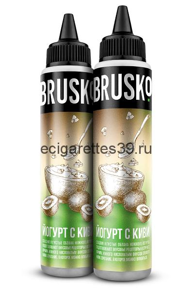 Жидкость Brusko, Йогурт с киви, 60 мл.