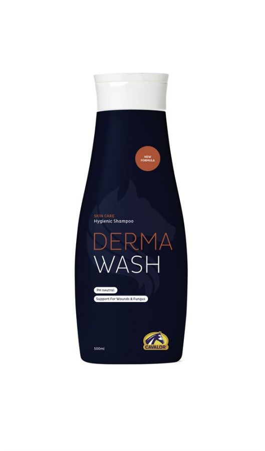 Шампунь Cavalor Derma Wash антибактериальный 500 мл.