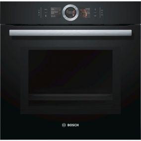 Духовой шкаф с микроволновой печью Bosch HMG656RB1