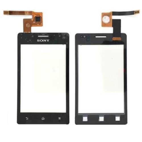 Сенсорное стекло (тачскрин) для Sony Xperia go (ST27i)