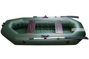 Лодка ПВХ Инзер 2 (260) передвижные сидения