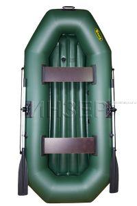Лодка ПВХ  Инзер 2 (260) надувное дно