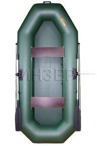 Лодка ПВХ Инзер 2 (280) передвижные сидения