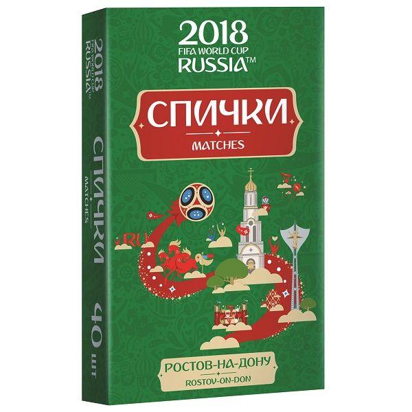 Спички для пикника  ЧМ-2018 Ростов-на-Дону