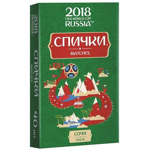 Спички для пикника  ЧМ-2018 Сочи