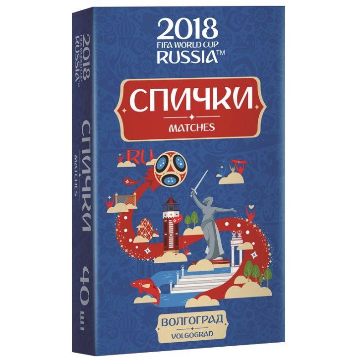 Спички для пикника  ЧМ-2018 Волгоград