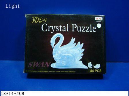 9004A 3D Puzzle Лебедь со светом 44 детали