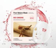 Secriss Pure Nature Mask Pack- Red ginseng Маска для лица тканевая  25мл
