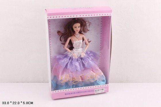 823C Кукла в бальном платье коллекционная подвижные суставы 4 вида