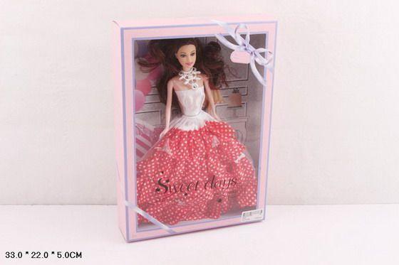 503C Кукла в бальном платье коллекционная