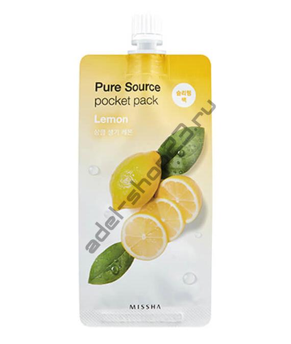 Missha - Энергетическая ночная маска с экстрактом лимона