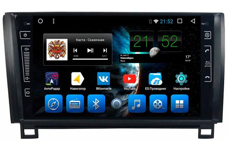 "Toyota Tundra (2007 - 2013), Sequoia (2007 - 2015) на OS Android 7.1.2 Штатное головное устройство 9"""