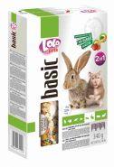 Lolo Pets Basic for Rabbit/Hamster 2in1 Полнорационный корм для кроликов и хомяков фруктово-овощной (340 г)