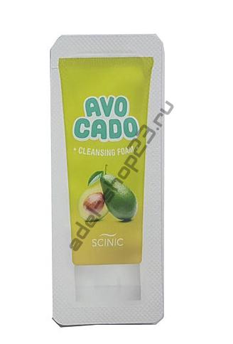 Scinic - пенка для умывания с авокадо Avocado Сleansing Foam Пробник