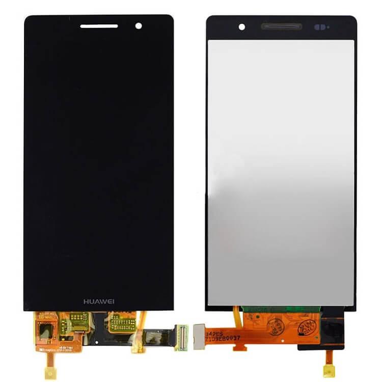 Дисплей в сборе с сенсорным стеклом для Huawei Ascend P6