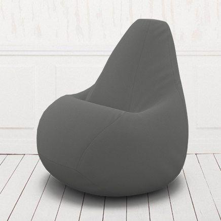 Кресло-груша Кент  6 серый