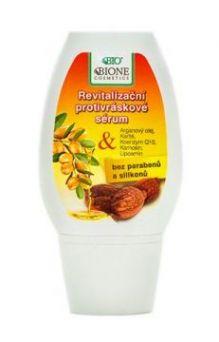 Антивозрастной серум для лица с аргановым маслом и маслом ши (без парабенов и силиконов)
