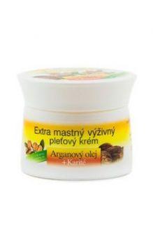Крем экстра питательный для лица с Аргановым маслом и маслом ши (без парабенов и силиконов)