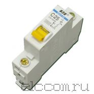 Автоматический выключатель серии ВА47-29 (63А) 1пол. 12/240