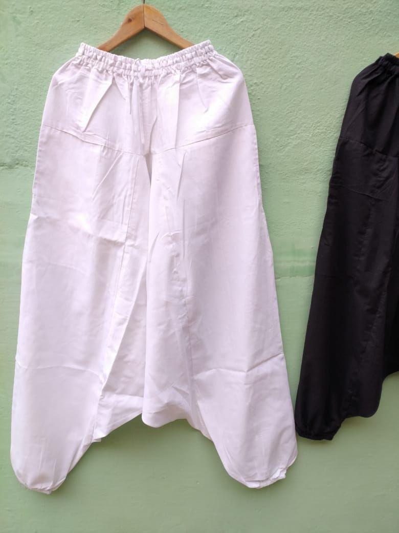 LONG Длинные белые штаны афгани на высокий рост (Москва)