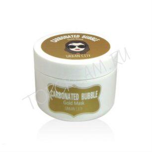 """""""БХ"""" Urban City Carbonated Bubble Gold Mask Маска для лица глиняно-пузырьковая с золотом  100мл"""