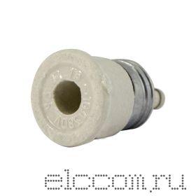 Предохранитель-пробка керамика 10А с плавкой вставкой (Е27Г1-10/380 УЗ) 50/500