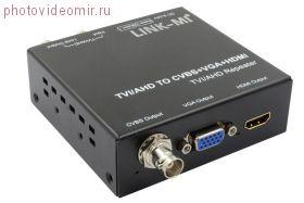 Конвертер AHD/TVI в HDMI/VGA/CVBS LINK-MI TVH2