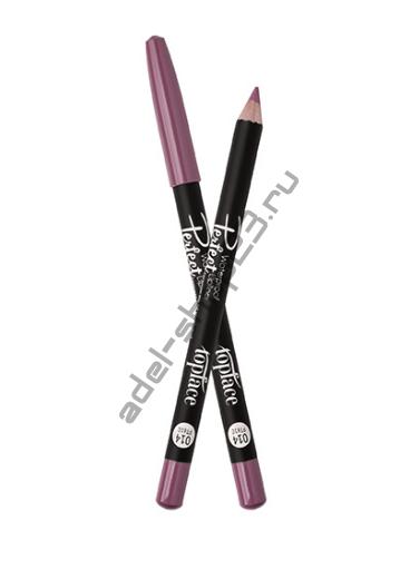 """TopFace - карандаш водостойкий для губ """"PERFECT"""" PT610"""