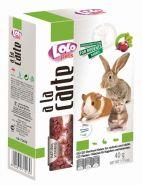 Lolo Pets a la Carte Хлопья свекольные для грызунов и кроликов (40 г)