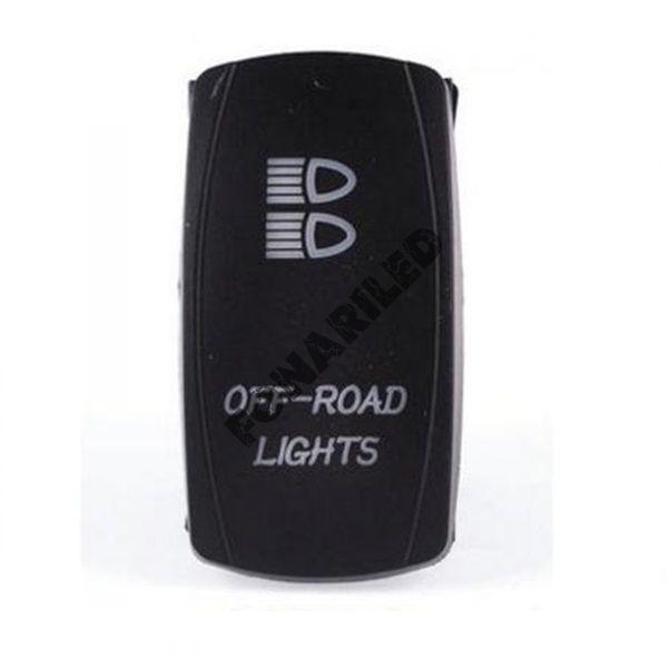Кнопка включения с подсветкой OFF-ROAD LIGHTS