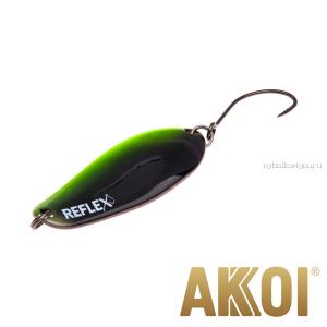 Колеблющаяся блесна Akkoi Reflex Element 4,2 см / 4,8 гр / цвет:  R37